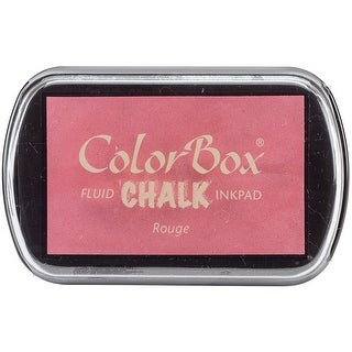 Colorbox Fluid Chalk Ink Pad-Rouge