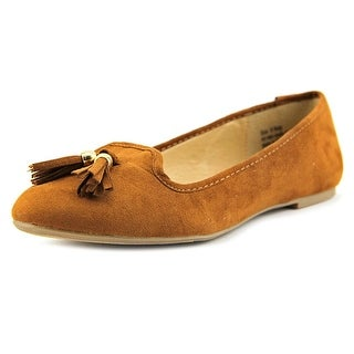 New Directions Ruby Round Toe Suede Flats