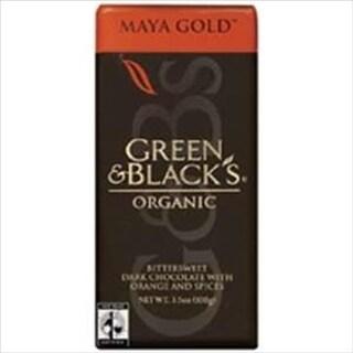 Green Black Chocolate Maya Gold 3.5 Oz -Pack of 10