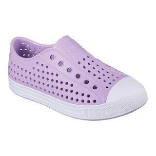 Skechers Girls Lightweight EVA Bright Slip On Sneaker Shoes