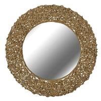 Kenroy Home 60203 Seagrass Round Mirror - N/A
