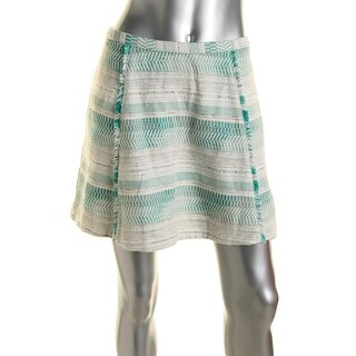 Rachel Roy Womens Knit Mini Flare Skirt - 10P