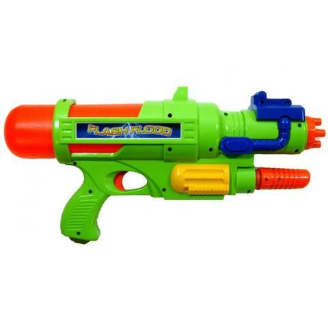"Stream Machine 81003 FlashFlood Water Gun, Assorted Colors, 17"", 1-Qty - 17"""