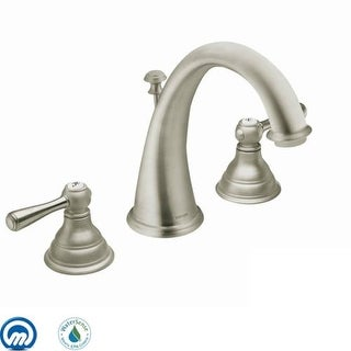 Moen T6125 Kingsley Double Handle Widespread Bathroom Faucet