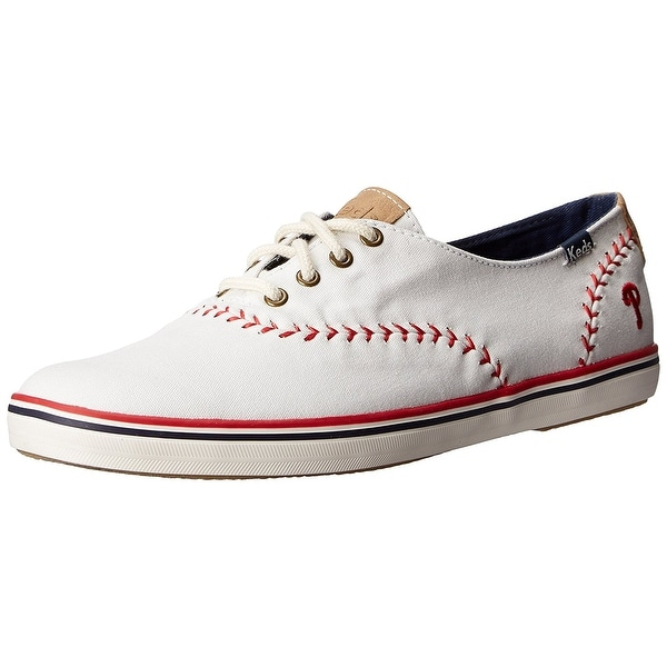 Keds Women's Champion MLB Pennant Baseball, Philadelphia Phillies, Size 9.5