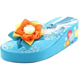 Disney Frozen Sandals Open Toe Synthetic Thong Sandal