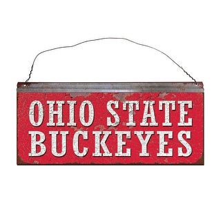 Ohio State University Buckeyes Small Tin Sign