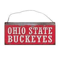 Ohio State University Buckeyes Small Tin Sign