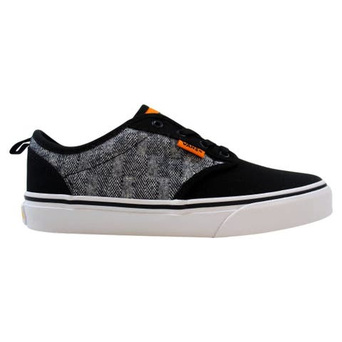 Vans Atwood Slip-On Black Checkered Textile VN0A38IXR7Q Grade-School