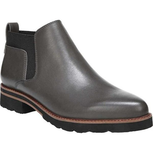 bb27a5170c4b6 Sarto by Franco Sarto Women's Bringham Chelsea Bootie Peat Leather/Fabric