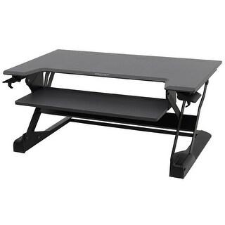Ergotron 33-406-085 Workfit-Tl Desktop Sit-Stand Workstation In Black