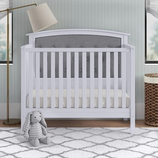 Link to Bentley Tufted 4-in-1 Convertible Crib Similar Items in Kids' & Toddler Furniture