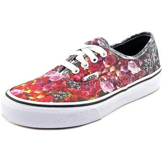 Vans Authentic  Youth  Round Toe Canvas Multi Color Sneakers