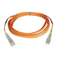 Tripp Lite Duplex Multimode 50/125 Fiber Patch Cable (Lc/Lc), 2M (6-Ft.)(N520-02M)