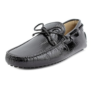 Tod's Laccetto My Colors New Gommini 122 Men Patent Leather Black Loafer