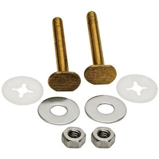 """Fluidmaster 7110  2-1/4"""" Toilet Bowl Bolts Set of 2 with Nuts and Washers"""