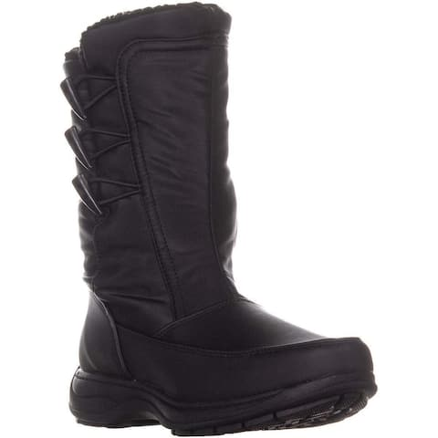 Sporto Womens Dana Closed Toe Mid-Calf Cold Weather Boots