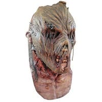 Zombie Scarecrow Horror Wizard of Oz Costume Mask - standard - one size