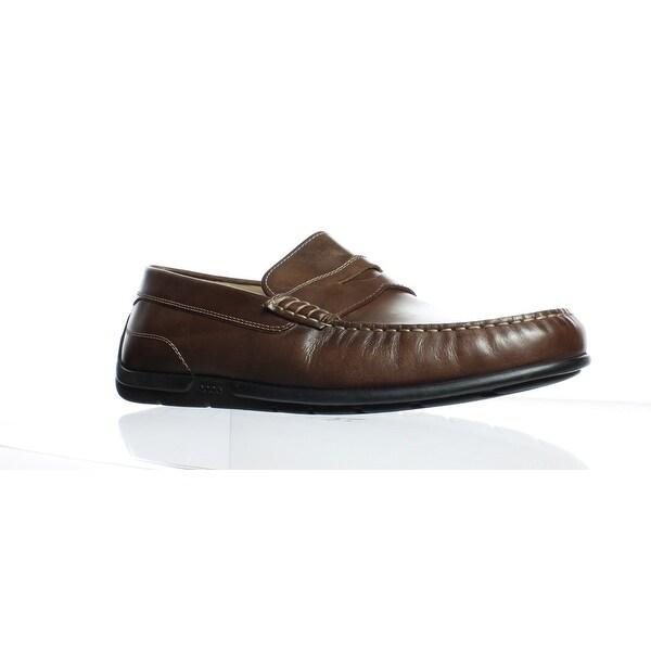 efca91bb Shop ECCO Mens Classic Moc 2.0 Mink Loafers EUR 44 - Free Shipping ...