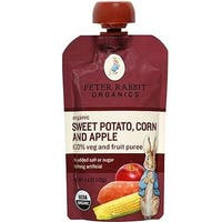 Peter Rabbit Organics - Apple, Sweet Potato & Corn Puree ( 10 - 4.4 OZ)