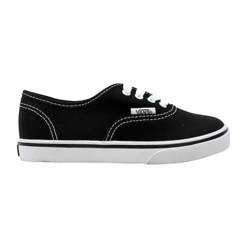 46f99abf8f561 Vans Pre-School Authentic Lo Pro Black/True White VN-0IEB6BT Size 11