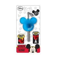 Disney Light Up Key Holder Mickey Mouse Icon Blue - Multi