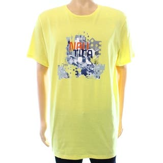 Nautica NEW Yellow Mens Size Large L Knit Graphic Crewneck Tee T-Shirt|https://ak1.ostkcdn.com/images/products/is/images/direct/95f4e03ad801c6362fd20f6608d0a72db1b5bf1b/Nautica-NEW-Yellow-Mens-Size-Large-L-Knit-Graphic-Crewneck-Tee-T-Shirt.jpg?impolicy=medium