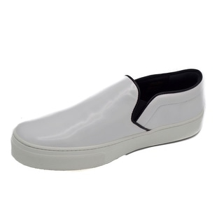 Céline Women's White Slip-on Skate Sneakers Size 39 / 9