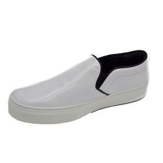 Céline Women's White Slip-on Skate Sneakers Size 39 / 9