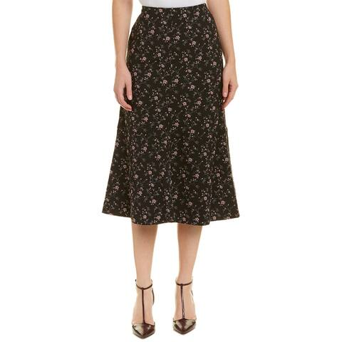 Rebecca Taylor Jacquard Midi Skirt
