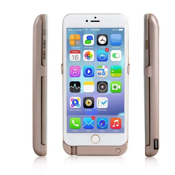 Indigi® 10000mAh PowerCase GOLD Rechargeable Battery Case iPhone 6 Plus/6S Plus