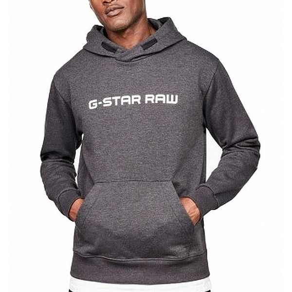 Shop G Star Raw Mens Sweater Charcoal Gray Size Small S