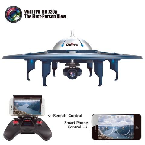 UDI U845 Telephone Remote Control WiFi FPV2.4G RC Quadcopter Drone UFO HD Camera