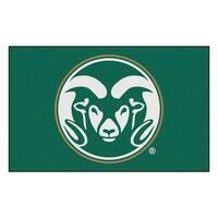 NCAA Colorado State University Rams Ulti-Mat Rectangular Area Rug