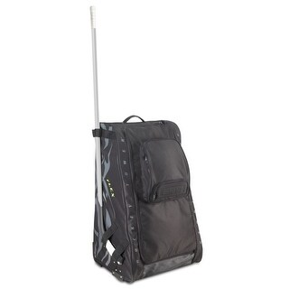 "Grit Inc. Flex Hockey Tower Large Equipment Bag 36-Inch, Black FLX1-036-B - 36""h x 23""w x 18""d"