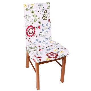 Spandex Flower Pattern Decor Stretchy Anti Scratch Chair Cover