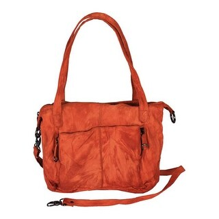 Latico Women's Jenna 7286 Orange Leather - US Women's One Size (Size None)