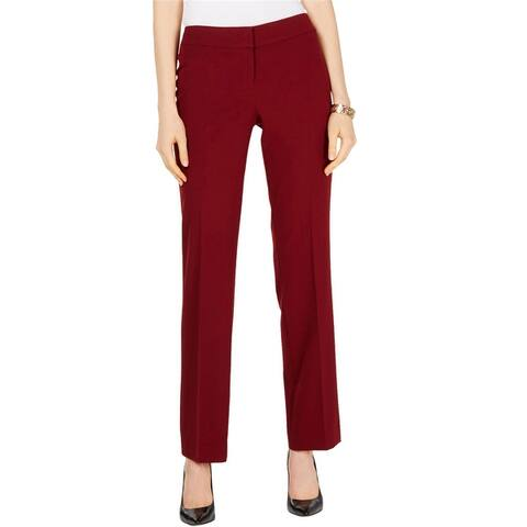 Nine West Womens Solid Dress Pants