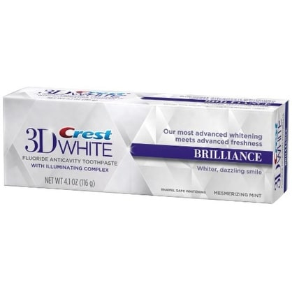 Crest 3D White Brilliance Toothpaste, Mesmerizing Mint 4.1 oz
