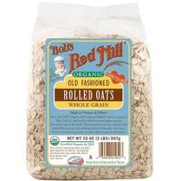 Bob's Red Mill - Organic Rolled Oats ( 4 - 32 OZ)