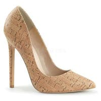 Pleaser Women's Sexy 20 Pump Cork PU