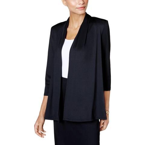 Kasper Womens Cardigan Sweater Office Wear Professional
