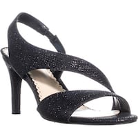CC35 Lailah Cutout Sandals, Black - 8 us