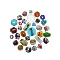 School Specialty Large Accent Beads, 4 Ounces, Assorted Colors