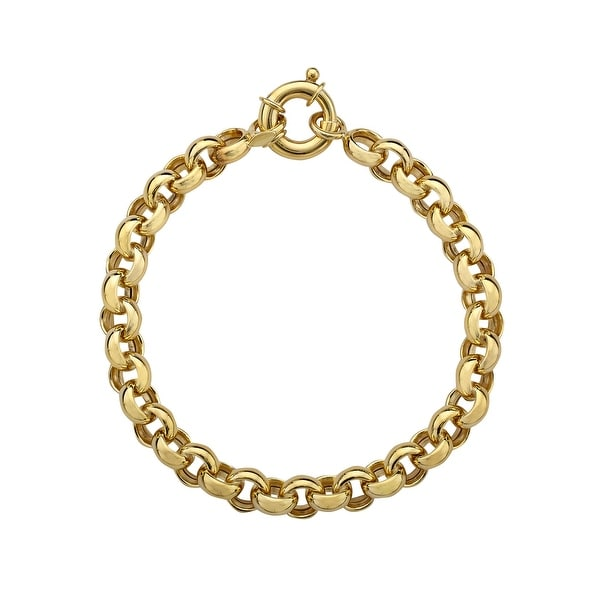 Rollo Chain Bracelet in 14K Gold-Plated Sterling Silver - Yellow