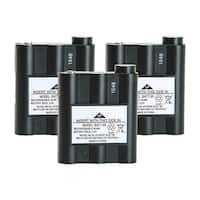 Replacement Battery For Midland GXT550 2-Way Radios - BATT5R (700 mAh, 6V, NiMH) - 3 Pack