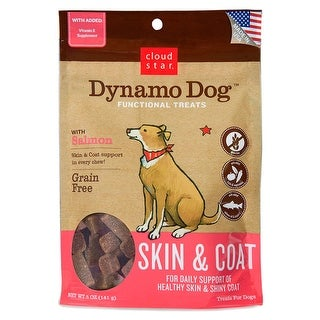 Cloud Star Dynamo Dog Salmon Skin & Coat Treats