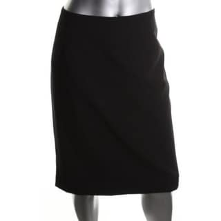 Calvin Klein Womens Lined Pencil Skirt - 14