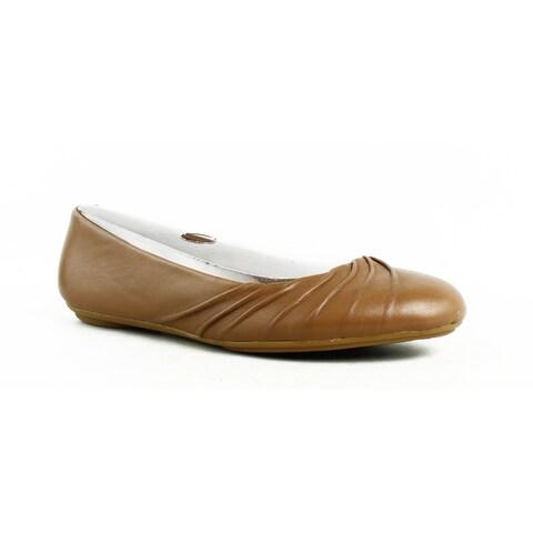 Hush Puppies Womens Zellachaste Tan Ballet Flats Size 6
