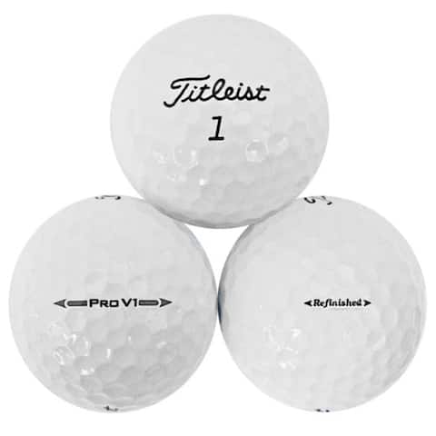 36pk Titleist Prov1 Refinished Golf Balls - 1.68 inches